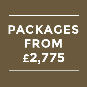 Wedding Packages from £2,775
