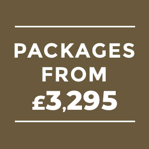 Wedding Packages from £3,295