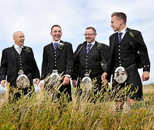 Male Wedding Party