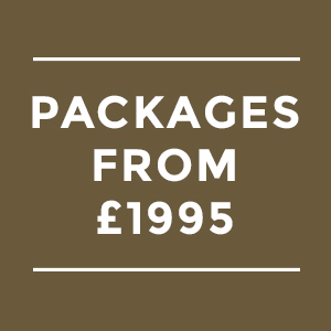 Wedding Packages from £1,995