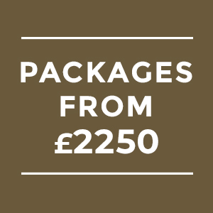 Wedding Packages from £2,250